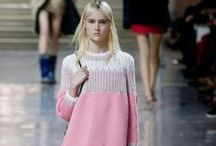 Knitwear in the Main / runways all over the world / by Chic Knits