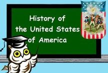 UNITED STATES HISTORY / U.S.A. history and social studies topics / by Skool Aid Products