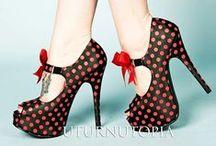 Shoes Glorious Shoes.... / by Tess Shea