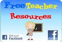 WEBSITES WITH FREE RESOURCES / Popular websites with free resources and lesson plans / by Aysin Alp