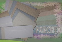 Parchtone Paper and Envelopes / replicates the look and feel of old world authentic parchment. Offers a touch of class with a natural presence - Practical, beautiful and classy. Parchtone has a semi-vellum finish and is offered in a variety of weights and colors. / by Paper-Papers
