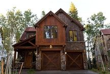 Exterior  / Houses.  Dwelling.  Structure.  Exterior Design.  Siding, roofing, materials. / by Amanda Watkins