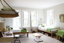 Kid Spaces / Kids rooms. Spaces to inspire, play, create, & rest.  / by Amanda Watkins