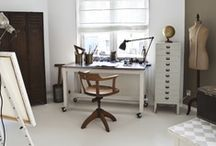 Home Office | Work Space / Creative / Work space.  Desks.  Writing tables.  Home office.   / by Amanda Watkins