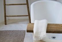 Bath / bath, tub, shower, water closet, wash room, vanity, sink. / by Amanda Watkins