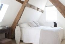 Bed / Attic bedroom.  Master bedroom.  Bedroom Ideas. / by Amanda Watkins