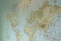 Maps / Maps, geography, topography, the world. / by Amanda Watkins