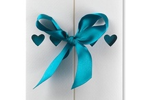 Ribbons Wedding Invitations / Ribbons is our most popular wedding invitations range as it's so beautiful and colourful.  We've 18 different colours and matching stationery too! / by Bride & Groom Direct