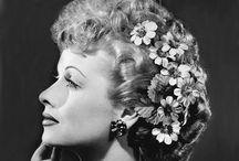 Stars--favorites 1 / L. Ball, B. Davis, J. Crawford, M. Loy, B. Stanwyke, L. Young, Mae West, J. Harlow, Liz Taylor,Meryl Streep / by Susan Holt