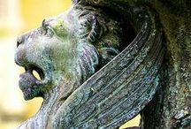 Gargoyles/Statues / by ϟ P@UL ϟ