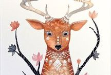 art and illustration pretties / art and illustration that I love  / by Ruthy