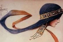 ART-Art Nouveau...Judendstil, Modernismo, Sezessionstil, Stile Liberty / by Nuceu alves