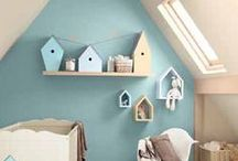 Nursery Inspiration / A collection of our favorite nursery ideas, from DIY wall hangings and murals, to mobiles, furniture and more!  / by Healthy Home Company