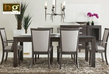 GrandVille Dining / GrandVille Dining is the latest dining collection we've designed at BG Furniture. It's made from solid wood and handcrafted by my workmates here at the plant in Walkerton Ontario.  / by Tara from BG Furniture