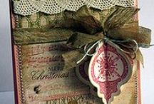Paper Crafting, Scrapping & Stamping, etc.... / Creating gifts with ephemera, paper, stamps, etc. is so, so much fun and rewarding! / by ⋯Pru Cox⋯