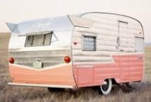 Glam camper...glamper / by Alix Adams