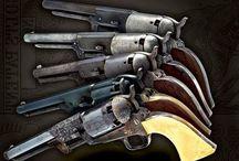 Colt Revolvers / Colt Revolvers / by Scott Weeks