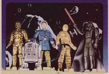 Collectibles: Star Wars / Merchandise based on the film-series saga: Star Wars by George Lucas / Lucasfilm, and now, Disney. / by Artist Steve Oatney