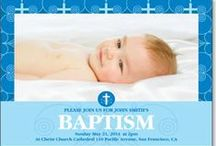 Baby Baptism / Create custom baptism invitations to share a memorable day. Include all of the important details & add your favorite photos to create not only the perfect invitation, but a truly unique and cherished keepsake.  / by Kindred Greetings