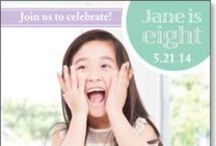 Celebrate Your Birthday / Spread the news with custom birthday invitations and announcements. Personalize with your own message, important event details, and add your favorite photos. / by Kindred Greetings