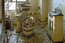 There can be no true beauty without decay - Montague H Withnail / I have been known to explore derelict buildings. I particularly love to visit abandoned asylums and houses.   / by Miranda Sim
