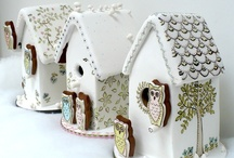 Ginger Bread Houses, Gingerbread and Houses. / by Miranda Sim