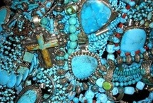Everything turquoise / by Malinda Baggett