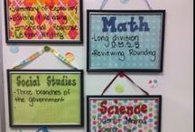 Classroom Ideas! / For my future elementary classroom. It's never too early to start planning! / by Miranda Quiroz