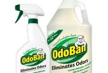 Deodorizing Liquid & Spray Products / by GetSmellOut