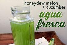 Agua Fresca Recipes / by Maura Hernandez