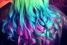 Colorful Hair / color your hair! / by Yvonne Helm