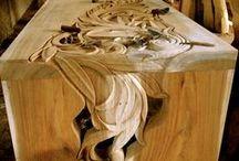 woodcarving / by corrie zweers aarden