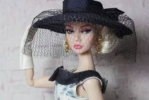 Barbie - City Chic / Barbie, fashion dolls, fashion doll clothing, Barbie clothing, dolls, doll accessories, fashion doll accessories, casual doll clothing , casual doll fashions, fashions for browsing at museums, lunch with friends, walking the dog, meeting for coffee, cocktail parties, dinner parties, entertaining, etc.   / by A Handmade Treasure