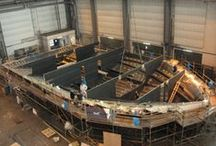 MS Tûranor PlanetSolar - Construction of the largest solar boat (2009-2010) / The construction of the largest solar boat ever built went on for 18 months in Kiel (Germany)  Follow it step by step... / by PlanetSolar