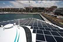 Mediterranean Campaign - summer 2012 / After completing the world tour in 19 months without a single drop of fuel, the MS Tûranor PlanetSolar went for a second campaign. She sailed as a mobile ambassador of solar energy / by PlanetSolar
