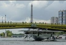 Paris - MS Tûranor PlanetSolar - September 2013 / PARIS... what an amazing feeling sailing on the Seine!! / by PlanetSolar