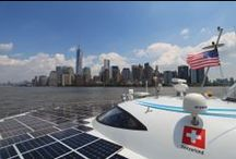 New York - MS Tûranor PlanetSolar - June 2013 / First stopover of the DeepWater expedition. A crew member shares with us the arrival in New York! http://www.planetsolar.org/blog/planetsolar-reaches-new-york-the-second-american-stopover-of-its-2013-campaign / by PlanetSolar
