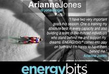 TidBits From Our Elite Athletes / Wondering what the pros say about being #poweredbybits? #teambits shares their thoughts with you! / by ENERGYbits