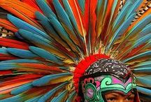 Aztec and Mayan and Incas / Aztec stuff and Aztec dancers also Mayan and Incas. / by MEB