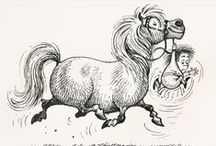 Cartoon Horses / by Unbridled Festival of Horses, Music and Food