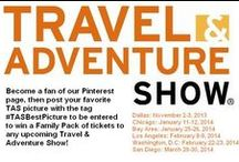 Attendee Photos / Here's your favorite photos from recent Travel & Adventure Shows! The best pictures will be pinned to this board and the best attendee picture will win tickets to any upcoming TAS! Just tag your favorite picture with #TASBestPicture to be entered to win! / by Travel And AdventureShow