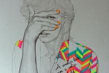 Art: Drawing / by Niwat Kumlangmak