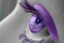 Purple/Lavender & Grey / by A Colourful World