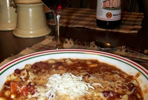 SOUPS/STEWS/CHILI / by Judy Lockwood