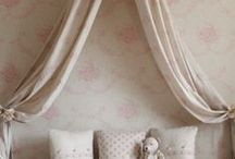 Kate Forman Bedroom Inspirations / Fabrics and wallpapers for the bedroom. / by Kate Forman