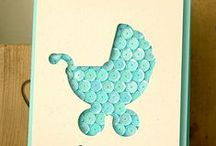 card ideas for new baby / by Alsine design