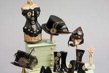 it's a mini ☀steampunked☀ world / steampunk dieselpunk miniatures, minis, steampunk dolls / by An