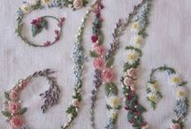 ribbon embroidery / hobby to do / by Martha Doeven