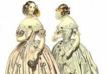 Women's Fashions 1837-1850 / by Geri Walton