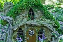 Garden Faerie Homes / If you make it, they will come / by Joan Stack